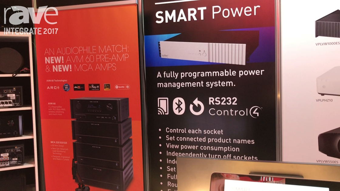 Integrate 2017: IsoTek Highlights Its Controllable SMART Power Management System