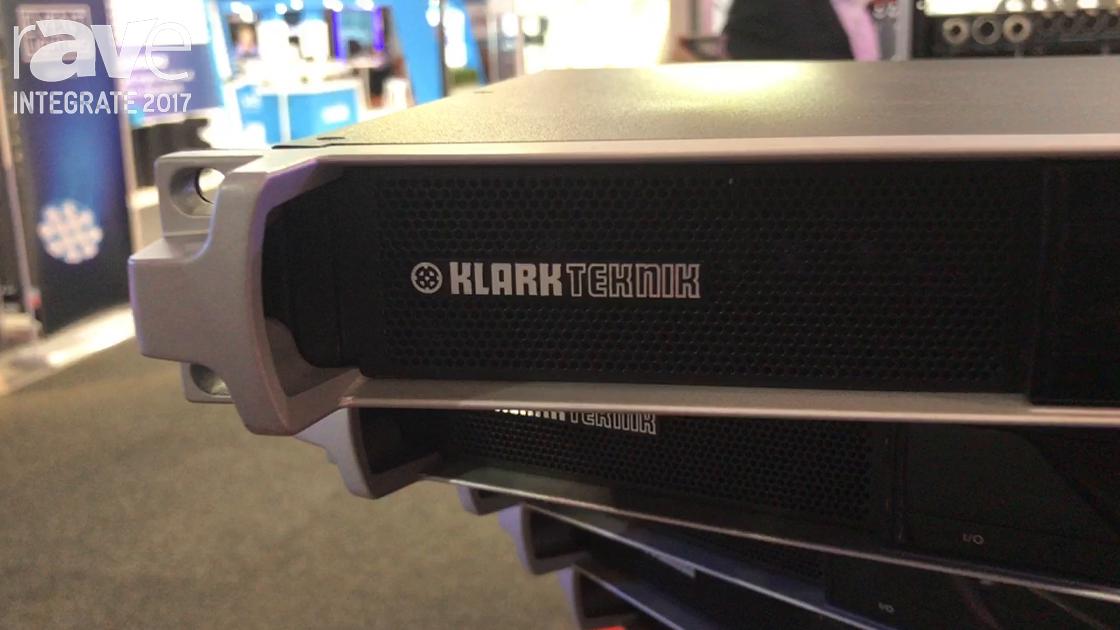 Integrate 2017: Klark Teknik Features New DM8000 Advanced Digital Audio Processor with Australis