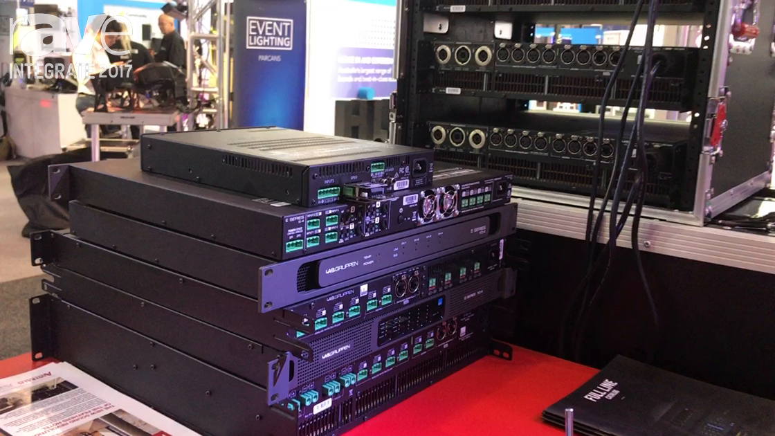 Integrate 2017: Lab.gruppen Highlights Its LUCIA E Series and D Series Amplifiers at Australis Stand