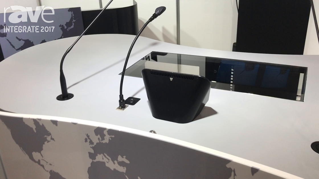 Integrate 2017: Lectern Hub Shows Off Its Huge MML3 Multimedia Lectern