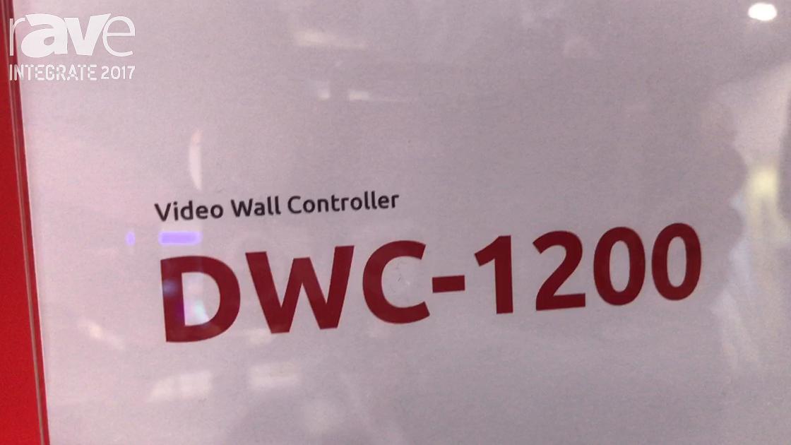 Integrate 2017: Panotek Introduces DWC-1200 Video Wall Controller