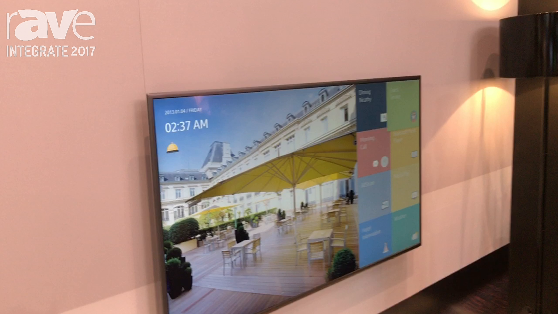 Integrate 2017: Samsung Demos Its 690 Series Hospitality Displays With LYNK REACH Smart System