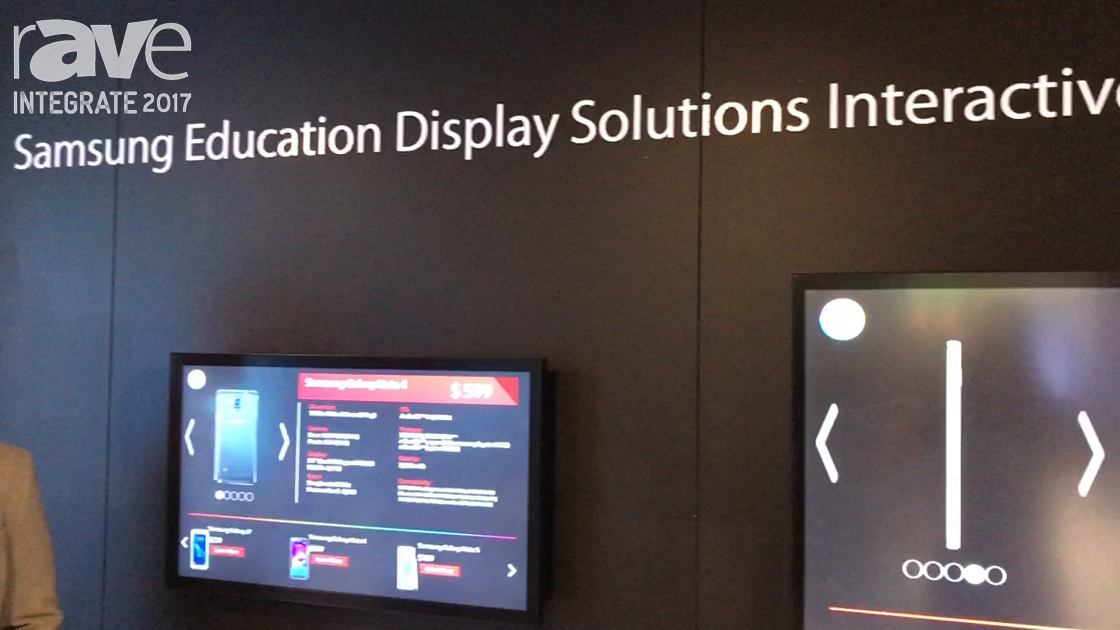 Integrate 2017: Samsung Highlights Its PMF-BC Series of Capacitive Touch Displays