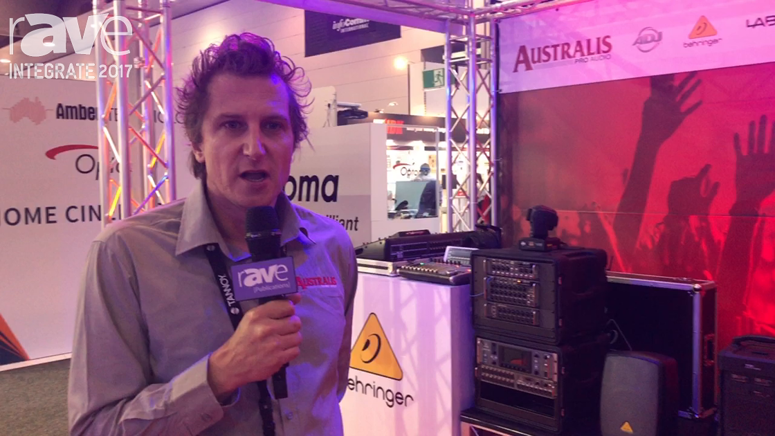 Integrate 2017: Turbosound Intros TLX Liverpool Line Array Range on the Australis Pro Audio Stand