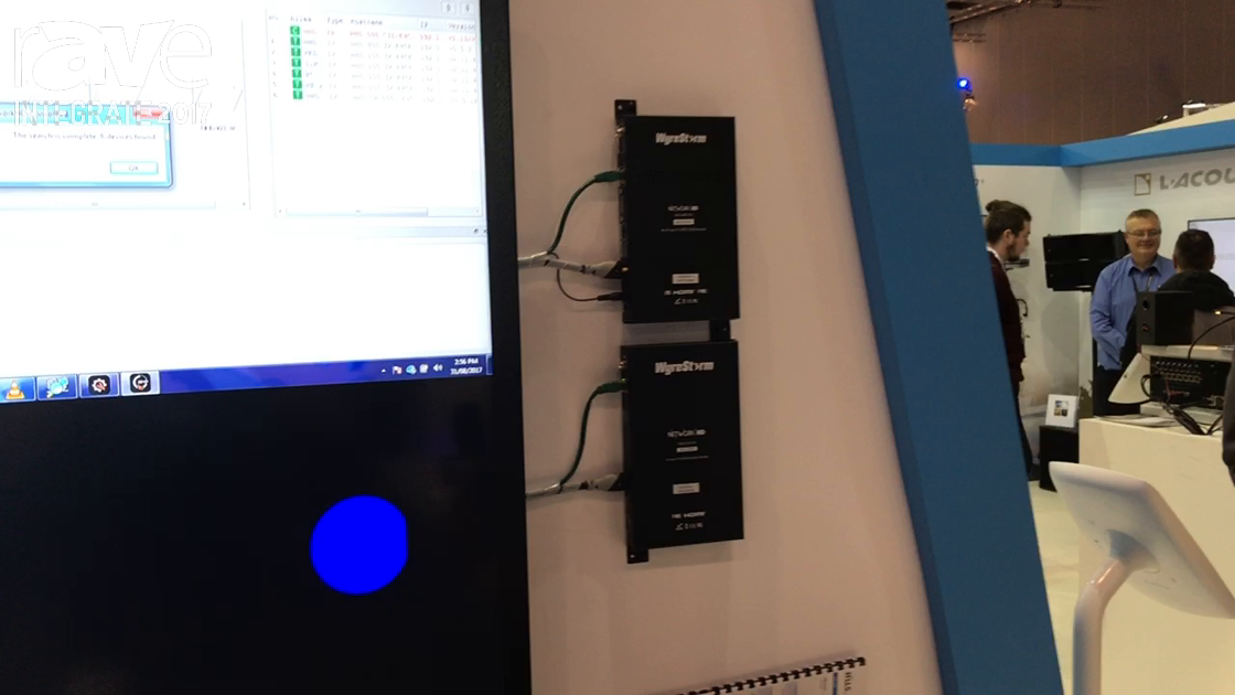 Integrate 2017: WyreStorm Features Network HD Series of Encoder and Decoders on the Hills Stand