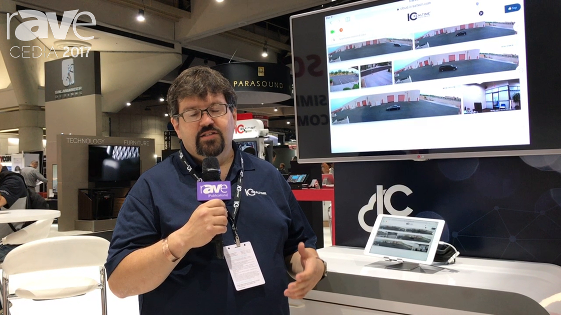 CEDIA 2017: IC Realtime Demos New Smart Cloud Search Technology That Searches Security Video Content