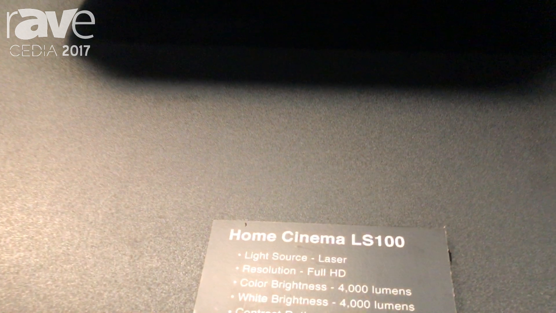CEDIA 2017: Epson Highlights Home Cinema LS100 Laser Projector at 4000 Lumens