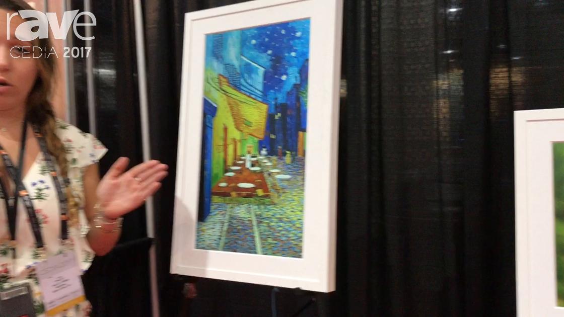 CEDIA 2017: Meural Demos Digital Canvas for Streaming Art Directly to a Framed Display With Gesture