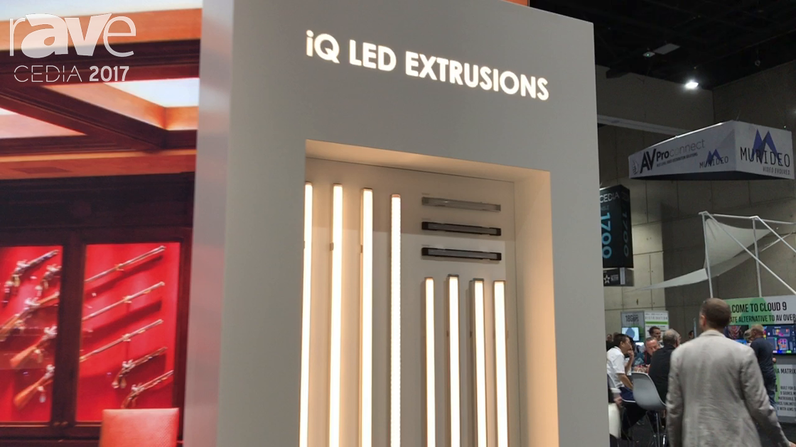 CEDIA 2017: Q-Tran Features Full Line of iQ LED Extrusions