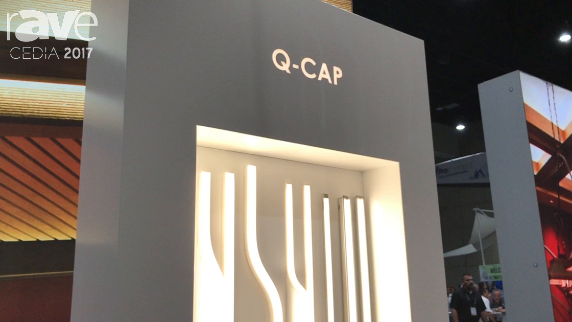 CEDIA 2017: Q-Tran Highlights Q-Cap Linear LED Products