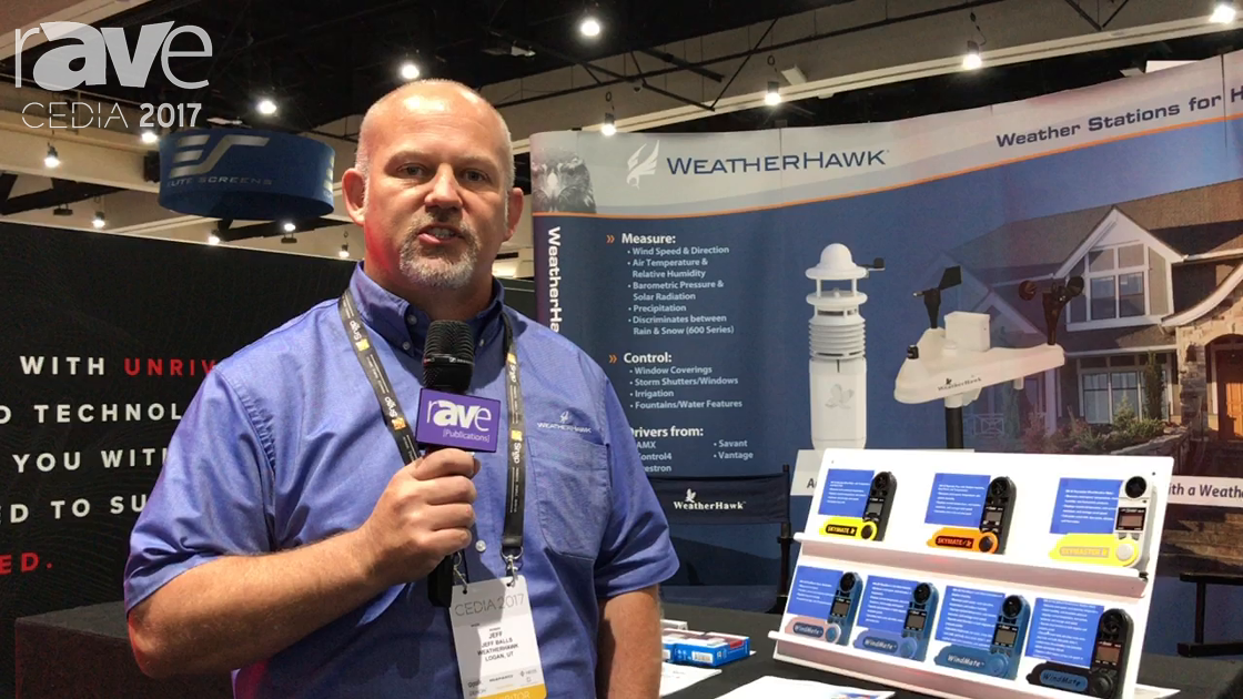 CEDIA 2017: WeatherHawk Features Its Solid-State 600 Series Weather Station With Doppler Radar