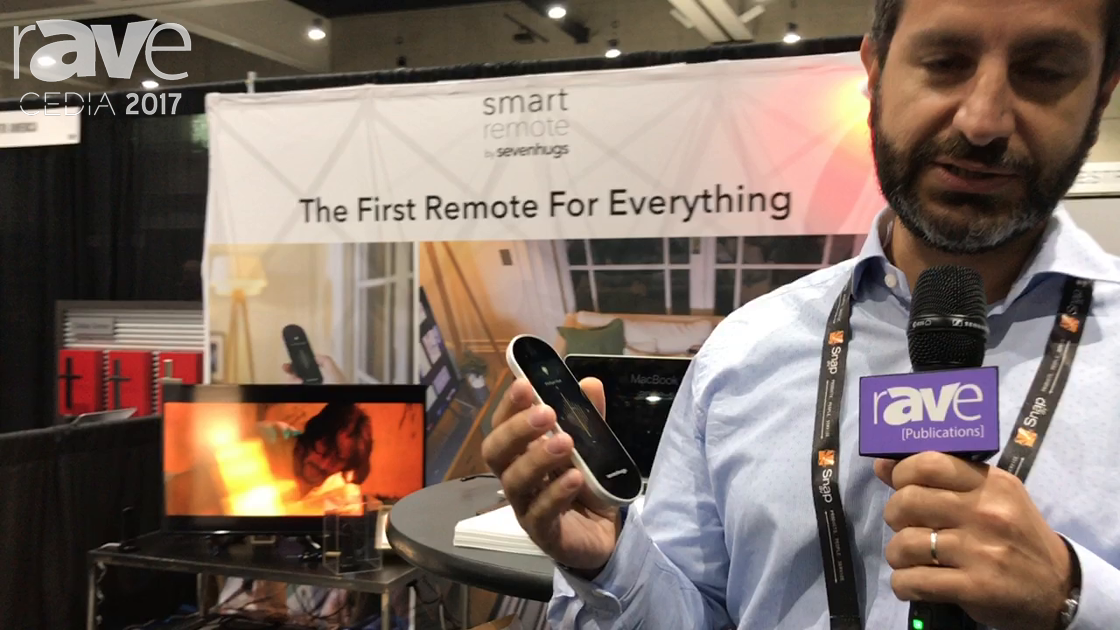CEDIA 2017: Sevenhugs Demos Its Smart Remote, the First Remote for Everything