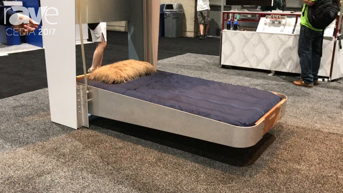 CEDIA 2017: Trak-Kit Demos Flow Bed, a Murphy Bed for the Future