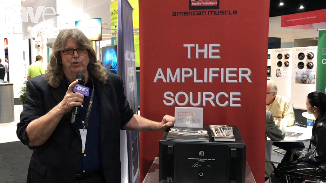 CEDIA 2017: ATI Amplifier Technologies Discusses Acquisition of Datasat