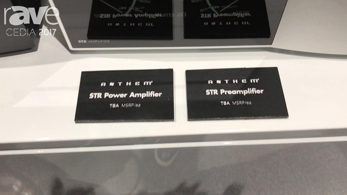 CEDIA 2017: Anthem Electronics Displays STR Power Amplifier