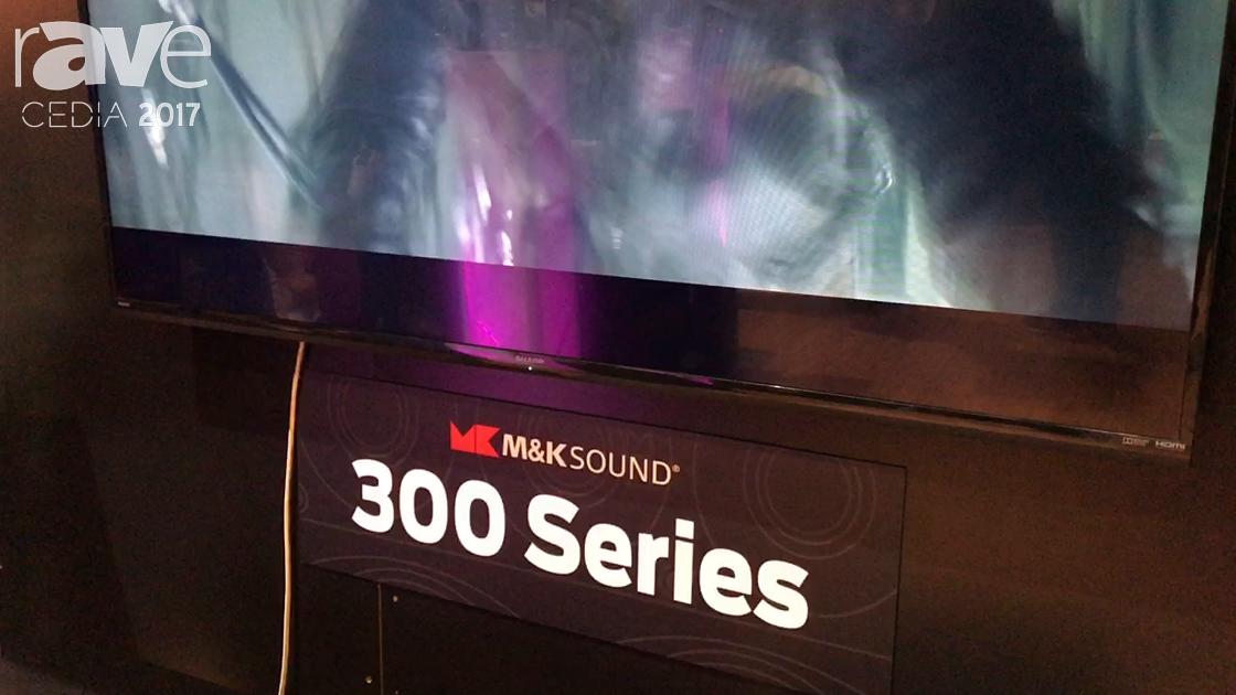 CEDIA 2017: Audio Gear Group Talks About M&K Sound S300 Series Loudspeaker