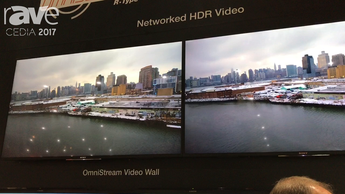 CEDIA 2017: Atlona Intros OmniStream Networked HDR Video Wall