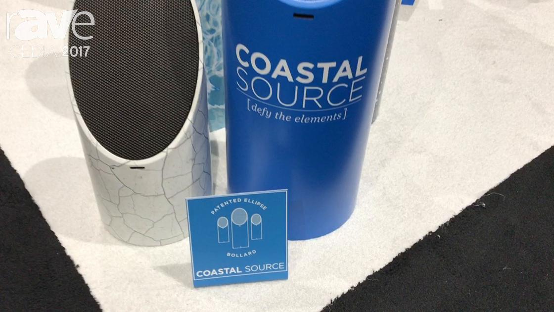 CEDIA 2017: Coastal Source Shows Off Designer Series of Ellipse Bollard Speaker