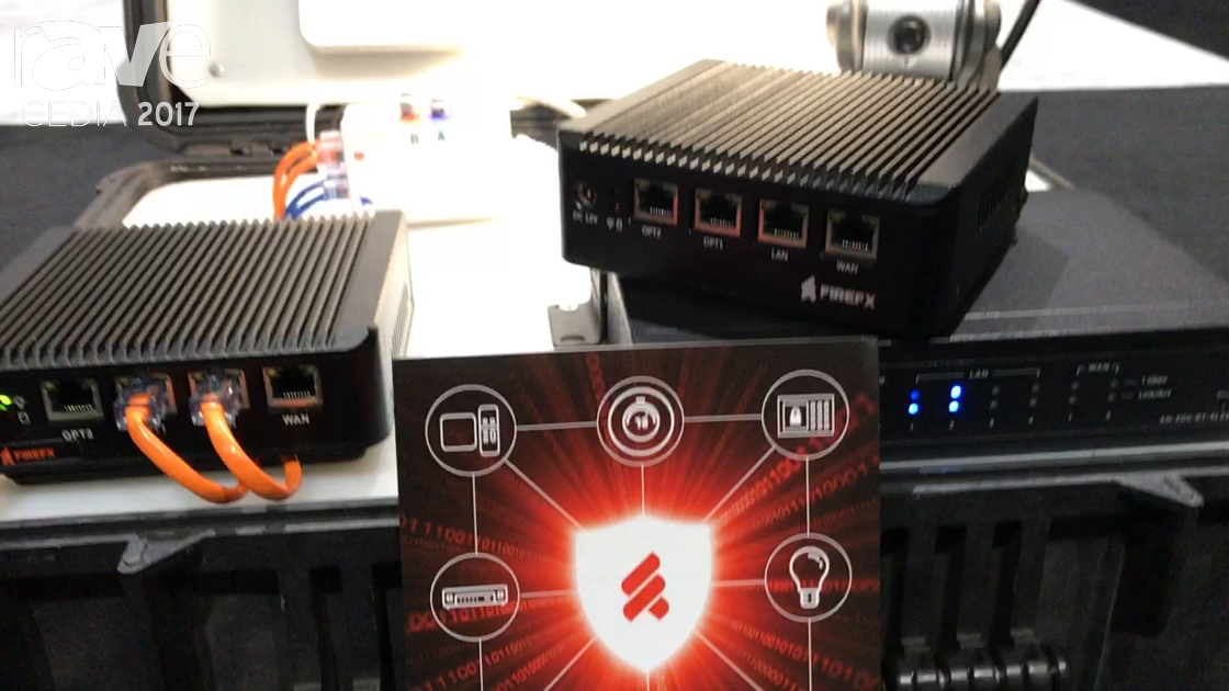 CEDIA 2017: FIREFX Shows Off Network Guardian Security Software