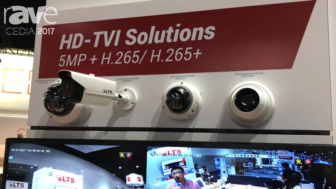 CEDIA 2017: LTS Displays HD-TVI Starlight Turret Camera 5MP