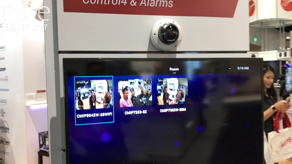 CEDIA 2017: LTS Exhibits Control4 Home Automation Integration