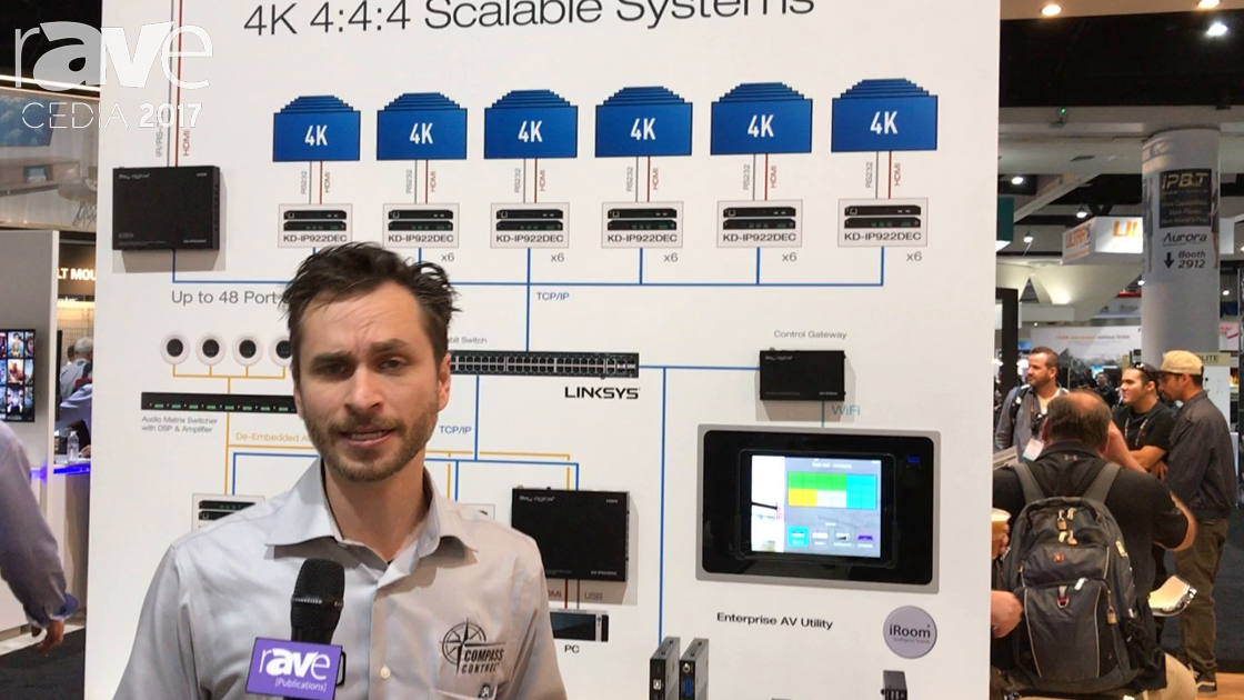 CEDIA 2017: Key Digital Presents KD-IP922DEC Enterprise AV Over IP Decoder