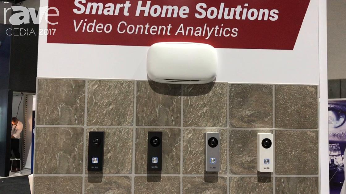 CEDIA 2017: LTS Discusses Network Video Doorbell Camera – 2MP