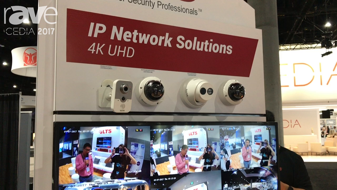CEDIA 2017: LTS Shows IP Network 4K UHD Solutions