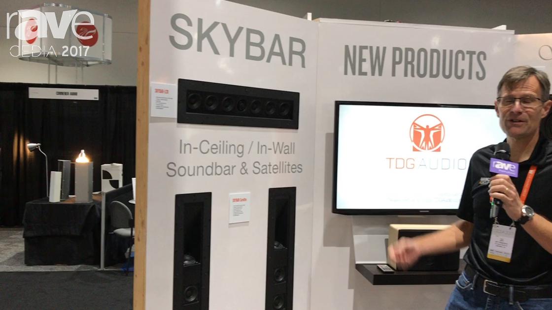 CEDIA 2017: The DaVinci Group Exhibits Skybar-LCR SoundBar