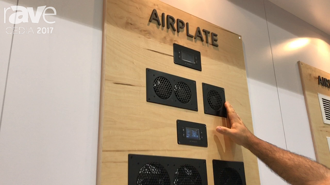 CEDIA 2017: AC Infinity Highlights Its Airplate Series of Quiet Cooling for Cabinets