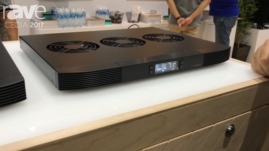 CEDIA 2017: AC Infinity Shows Quiet Cooling Systems for Receivers
