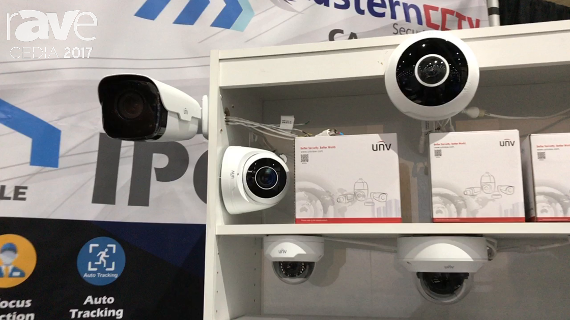 CEDIA 2017: Eastern CCTV Specializes in IP Control Camera Systems