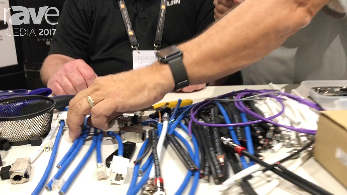 CEDIA 2017: Future Ready Solutions Demos Belden Revconnect for Terminating RJ-45