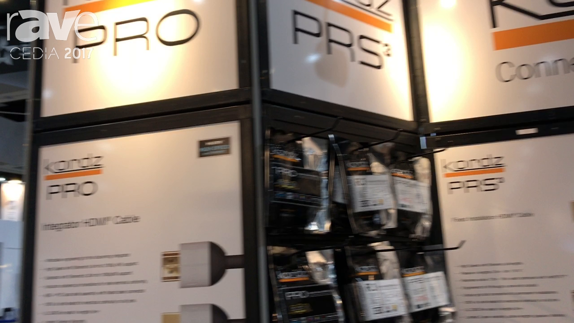 CEDIA 2017: Future Ready Solutions Features Kordz Pty HDMI Cables