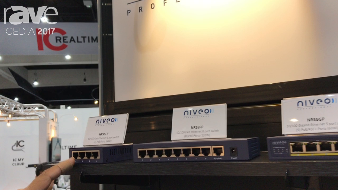 CEDIA 2017: Future Ready Solutions Showcases Niveo Professional Line of Networking Products