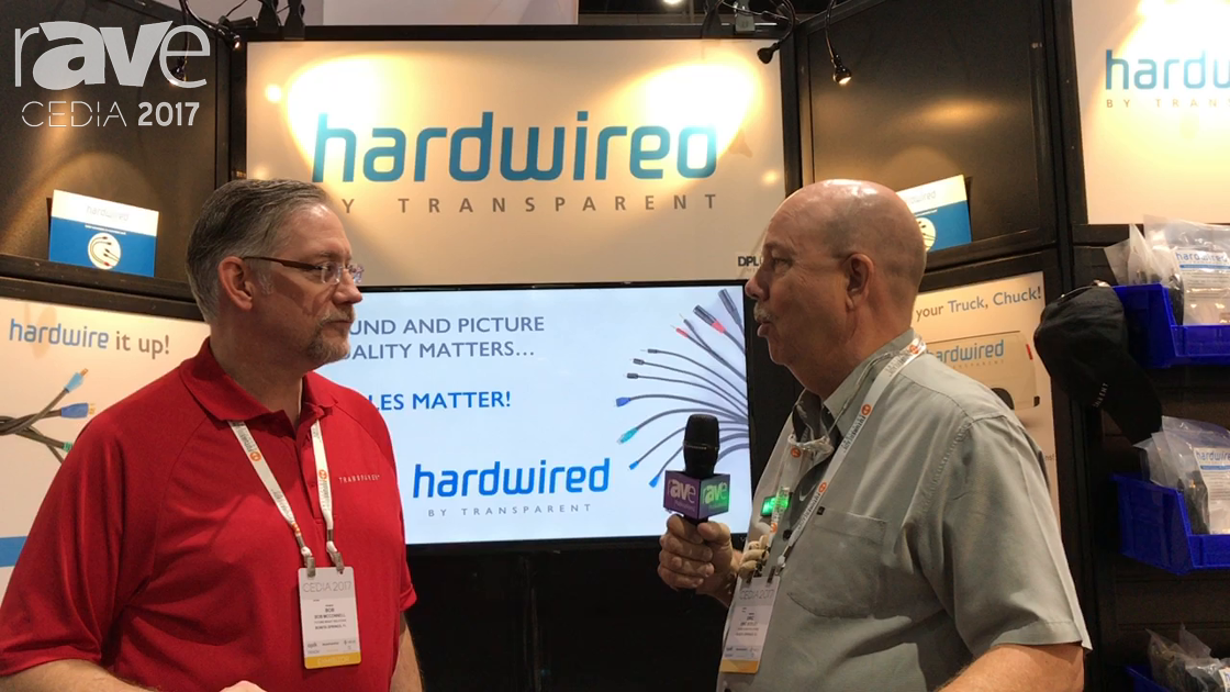 CEDIA 2017: Future Ready Solutions Shows Hardwired by Transparent Rax Pax Custom Bulk Cable Solution
