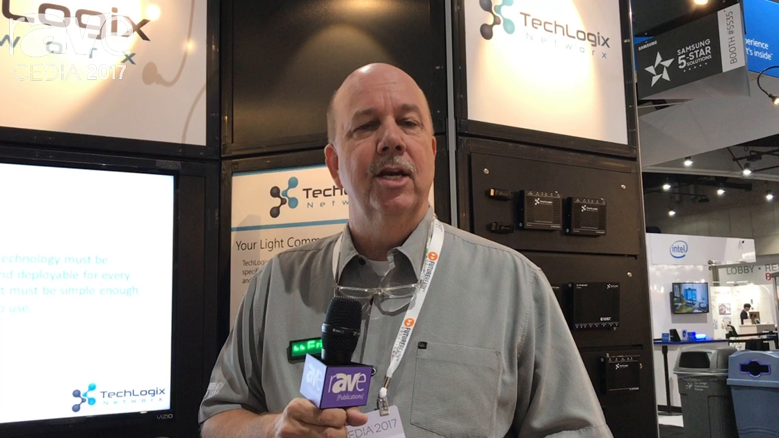 CEDIA 2017: Future Ready Solutions Shows TechLogix Network TL-FO2-HDC Dual Fiber Extender With VLC