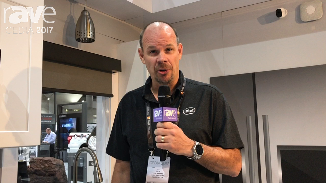 CEDIA 2017: Intel Demos the Power of Amazon Alexa Voice Control for Home Automation in a Kitchen