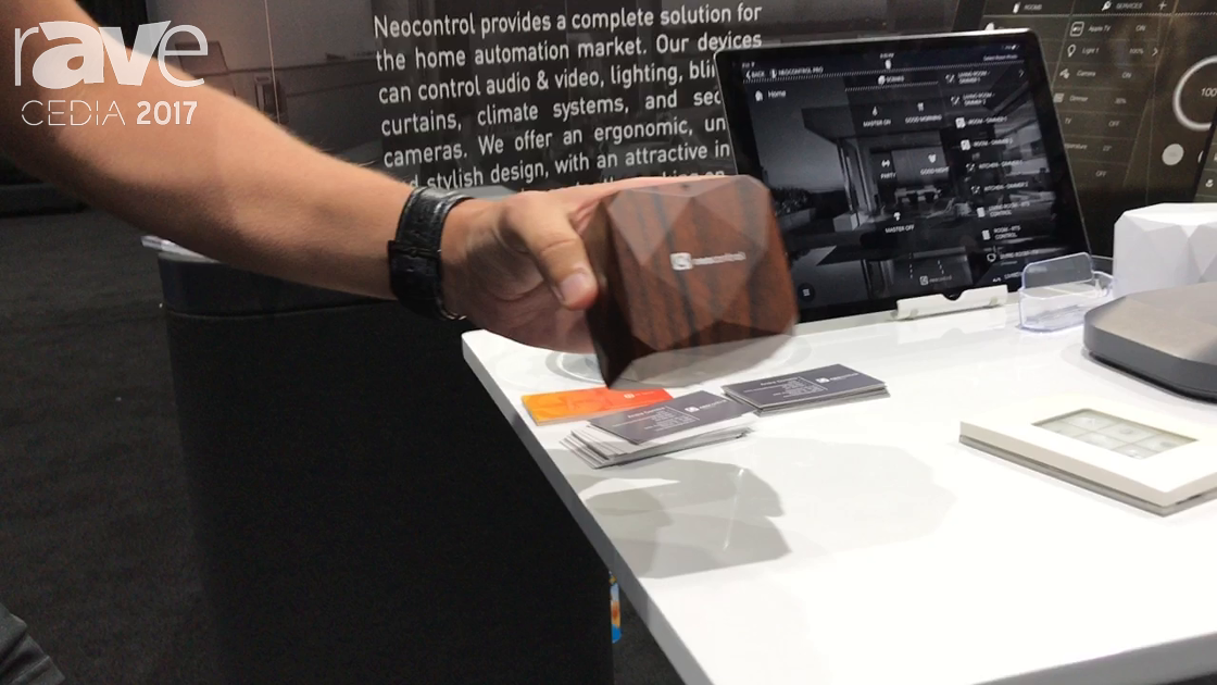 CEDIA 2017: Neocontrol Demos Cubee Home Control Interface and Neocontrol Pro Home App