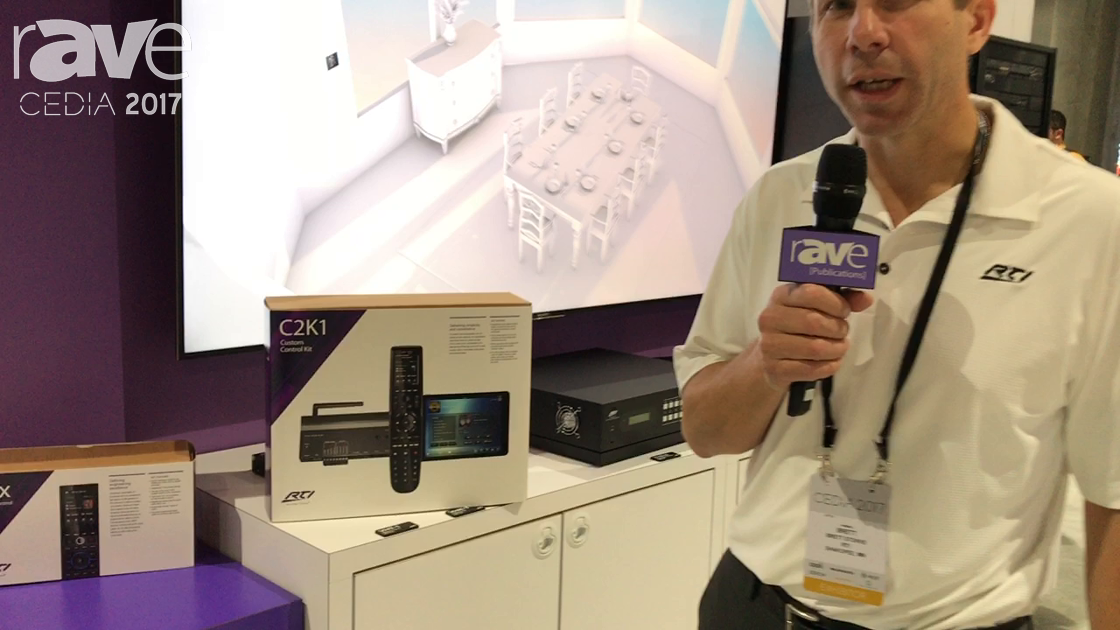 CEDIA 2017: RTI Presents C2K1 Custom Control Kit