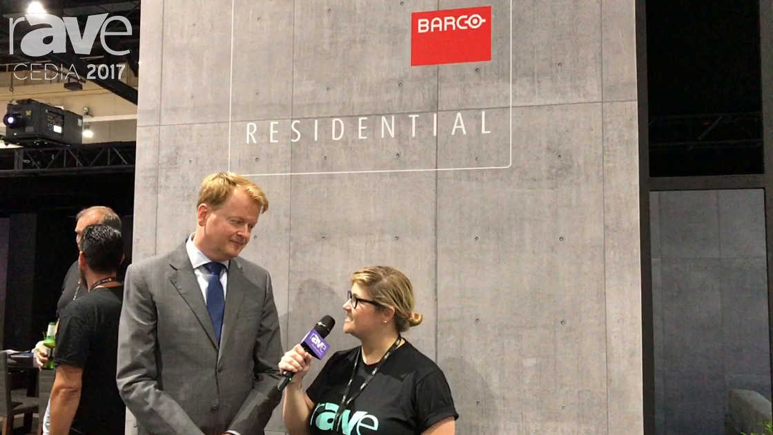 CEDIA 2017: Sara Abrons Talks to Tim Sinnaeve About Barco Residential
