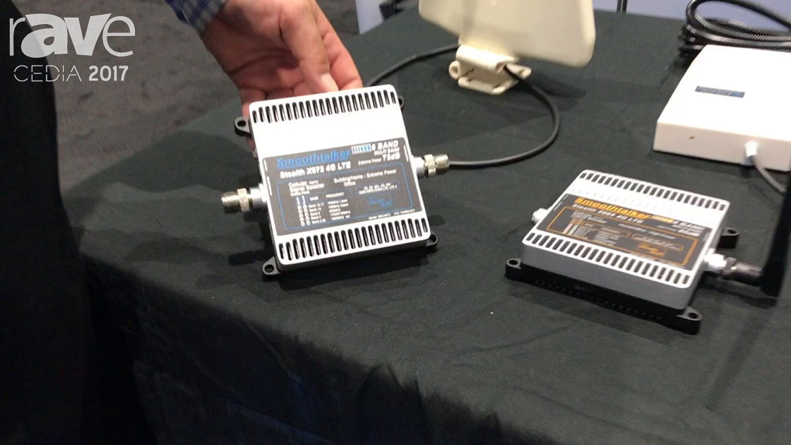CEDIA 2017: SmoothTalker Launches New Stealth X672 4G LTE 6-Band Cell Signal Booster