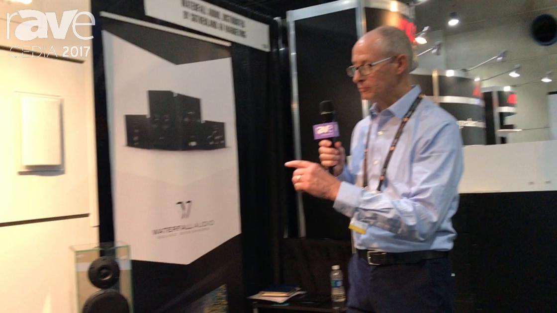 CEDIA 2017: Sutherland AV Marketing Shows Off Waterfall Audio Glass and Pro Custom Series Speakers