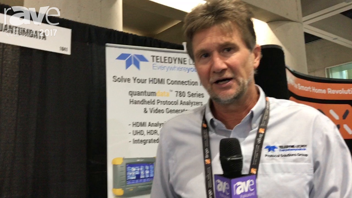 CEDIA 2017: Teledyne Lecroy Shows the Quantumdata 780 Series of Signal Testers
