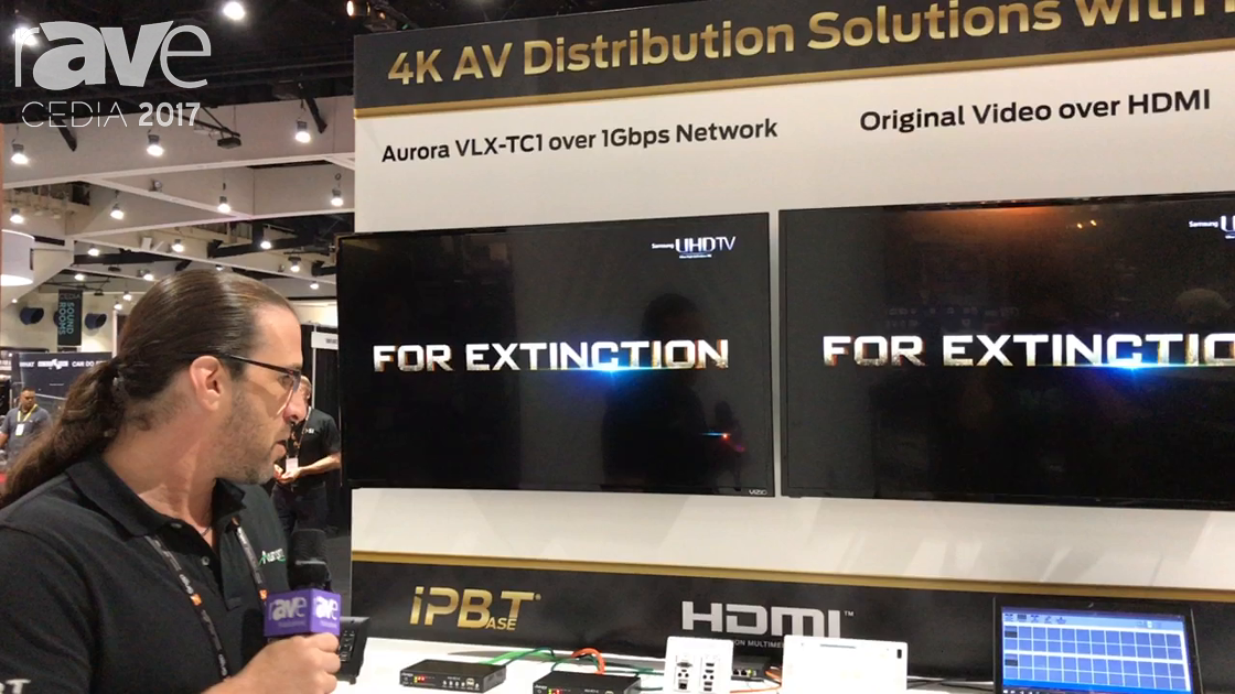CEDIA 2017: Aurora Showcases VLX-TC1 Series Transceiver