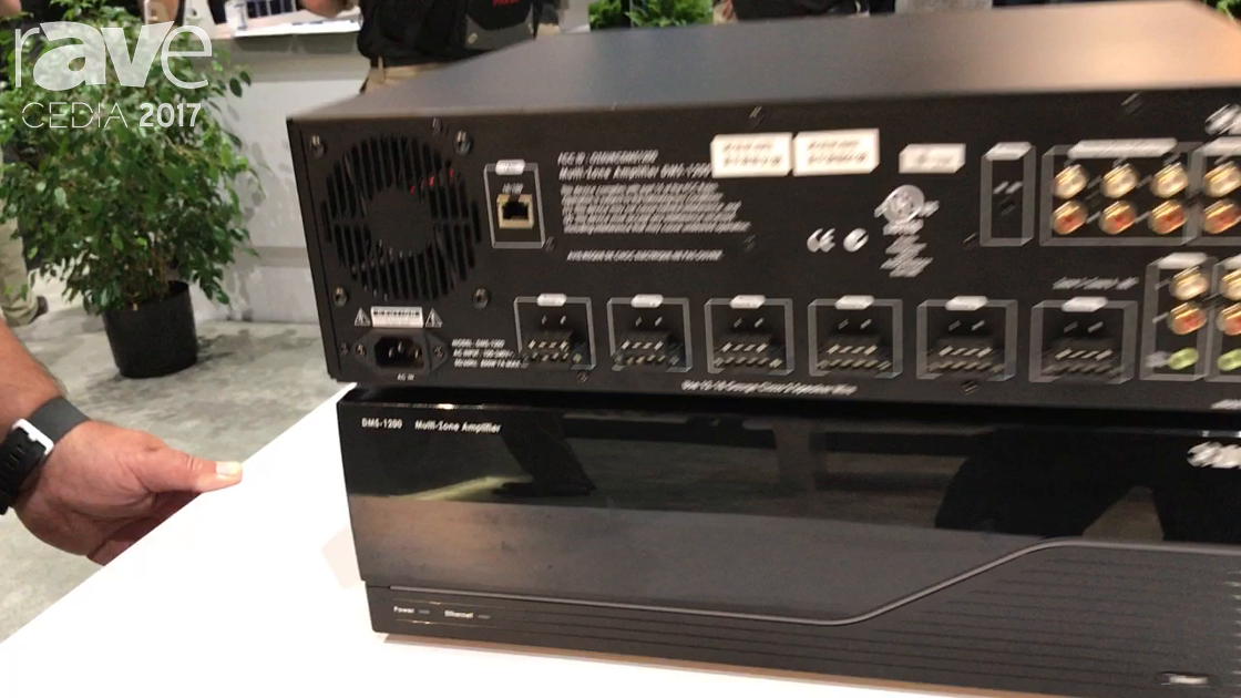 CEDIA 2017: Universal Remote Control Demos DMS Audio Solution Amplifiers
