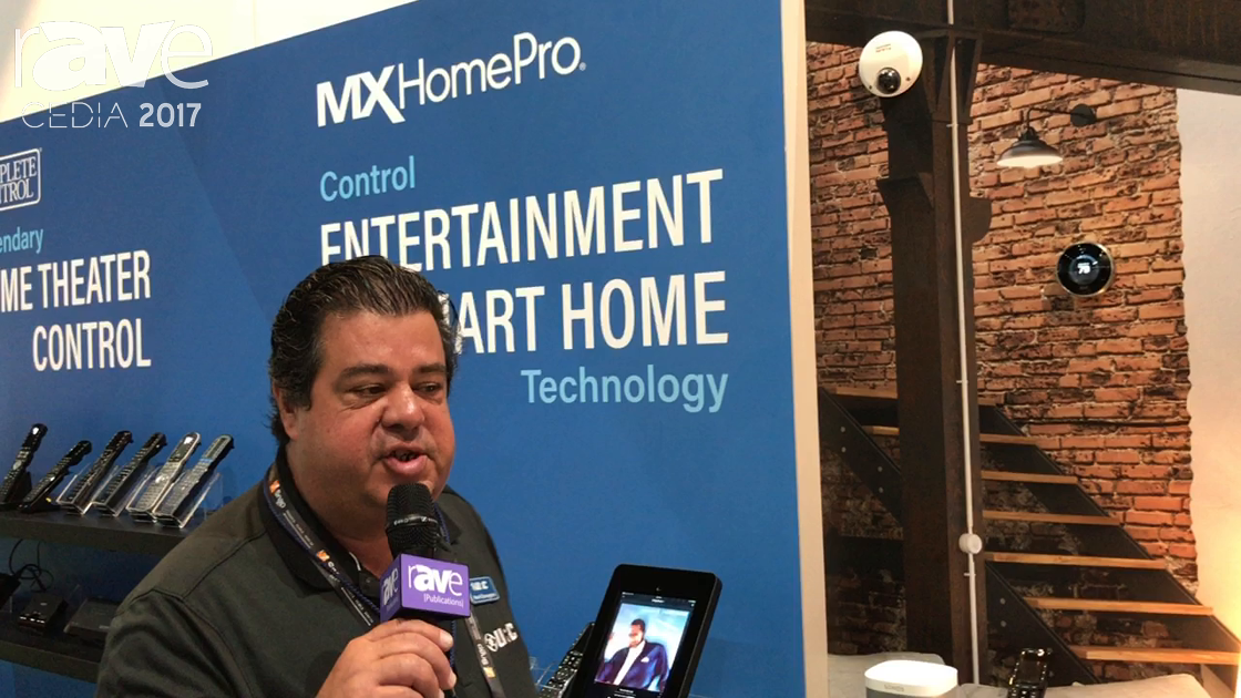 CEDIA 2017: Universal Remote Control Displays MX HomePro System for SmartHome Integration