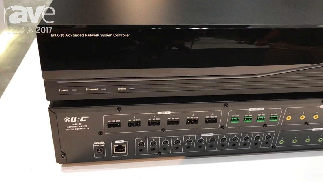 CEDIA 2017: Universal Remote Control Previews MRX-30 and MRX-15 Network System Processors
