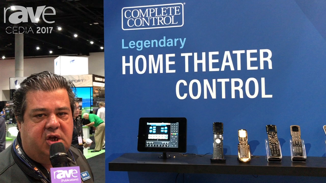 CEDIA 2017: Universal Remote Control Shows Complete Control Home Theater Line