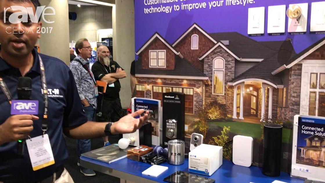 CEDIA 2017: Eaton Features Home Automation Hub